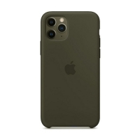 Накладка Silicone Case Full iPhone 11 Pro Max coffee (22)