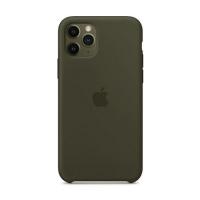 Накладка Silicone Case Full iPhone 11 Pro Max coffee (22)