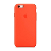Накладка Silicone Case iPhone 7,8 sky red (14)