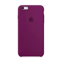 Накладка Silicone Case iPhone 7,8 grape (43)