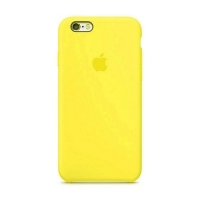 Накладка Silicone Case iPhone 7,8 canary yellow (50)