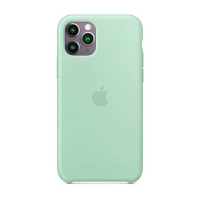 Накладка Silicone Case Full iPhone 11 Pro Max sea blue (21)