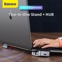BASEUS Armor Age Type-C Bracket Multifunctional HUB Space