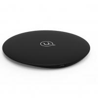 USAMS Wireless Fast Charging Pad US-CD24 (10W, 1A) Black