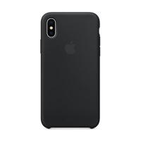 Накладка Silicone Case iPhone X, XS black (18)