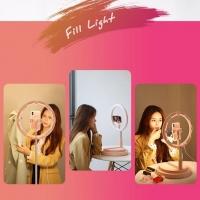 LED-лампа для блогеров USAMS US-ZB120 Stretchable Selfie Ring Light