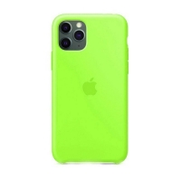 Накладка Silicone Case Full iPhone 11 green (32)
