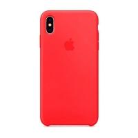 Накладка Silicone Case iPhone X, XS camellia (25)