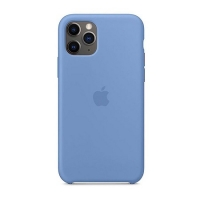 Накладка Silicone Case Full iPhone 11 azure (24)