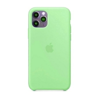 Накладка Silicone Case Full iPhone 11 Pro spearmint (47)