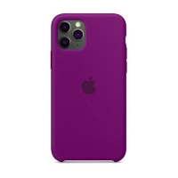 Накладка Silicone Case Full iPhone 11 Pro grape (43)