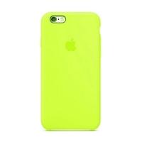 Накладка Silicone Case iPhone 7,8 shiny green (40)