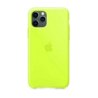 Накладка Silicone Case Full iPhone 11 Pro shiny green (40)