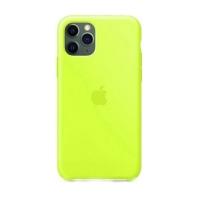 Накладка Silicone Case Full iPhone 11 shiny green (40)