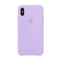 Накладка Silicone Case iPhone X, XS dasheen (39)