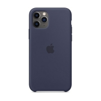 Накладка Silicone Case Full iPhone 11 Pro Max blue cobalt (36)