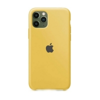 Накладка Silicone Case iPhone 11 Pro Max gold (29)