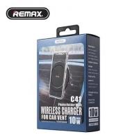 Автодержатель REMAX RM-C41 Phone Holder With Wireless Charger