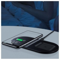 БЗУ Baseus Simple 2in1 Wireless Charger Pro Edition For Phones Pod