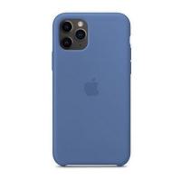 Накладка Silicone Case iPhone 11 Pro Max cornflower (53)