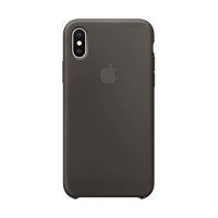 Накладка Silicone Case Full iPhone XR dark gray (15)
