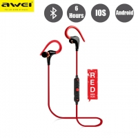 Наушники AWEI A890BL Bluetooth red