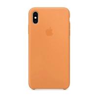 Накладка Silicone Case Full iPhone X, XS flamingo (27)