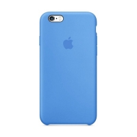 Накладка Silicone Case iPhone 7,8 blue (16)