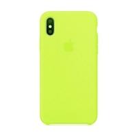 Накладка Silicone Case Full iPhone XR shiny green (40)