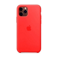 Накладка Silicone Case Full iPhone 11 Pro Max camellia (25)