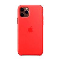 Накладка Silicone Case Full iPhone 11 Pro Max camellia (25)
