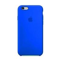 Накладка Silicone Case iPhone 7,8 shiny blue (44)