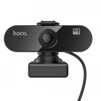 Web Камера HOCO USB Computer Camera DI06 HD, 4MP, 1.5M, 360°