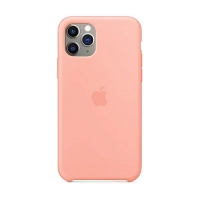 Накладка Silicone Case Full iPhone 11 Pro Max pink (12)