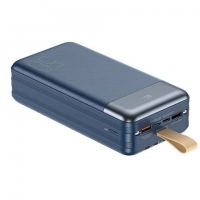 Power bank REMAX Hunergy Series 22.5W QC+PD Cabled 50000mAh RPP-200 / blue