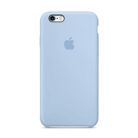Накладка Silicone Case iPhone 7,8 sky blue (60)