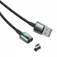 Кабель Baseus Zinc Magnetic Lightning 1.5A 2M