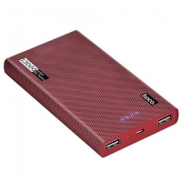 Power bank Hoco B36 Wooden 13000mAh red