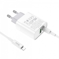 СЗУ HOCO C80A Rapido PD+QC3.0 charger set для iphone 12
