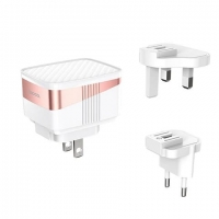 CЗУ HOCO C83 Detachable pin charger (US/EU/UK)