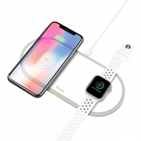 БЗУ Hoco CW20 Wisdom 2-in-1 wireless charger