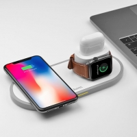 БЗУ Hoco CW21 Wisdom 3-in-1 wireless charger
