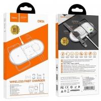 Беспроводное зарядное устройство Hoco CW24 Handsome 3 в 1