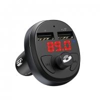 Автомобильный FM трансмиттер Hoco E41 с функцией зарядки