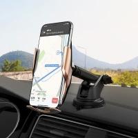 Автодержатель Hoco S14 Surpass wireless charging