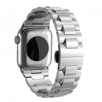 Pемешок HOCO WB03 Grand steel stra for Apple Watch Series 4 (40mm) silver