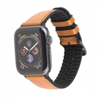 Pемешок HOCO WB18 Fenix leather strap for Apple Watch Series1/2/3/4/5
