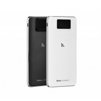 Повербанк power bank Hoco UPB05 LCD 10000 mAh White