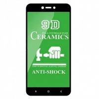 Защитное стекло Ceramic Xiaomi Redmi 5A/Redmi GO Black