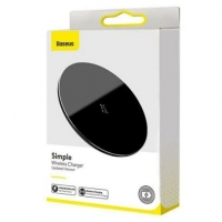 БЗУ Baseus Simple Wireless Charger 15W(Updated Version for Type-C)/ Black